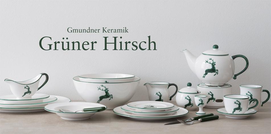 Grüner Hirsch