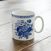 Spode-Mugs Blue Rose