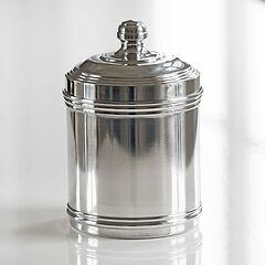 Italo Ottinetti Vorratsgefäße aus Aluminium glänzend 1,75 l