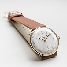 Armbanduhr Max Bill Gold 1962