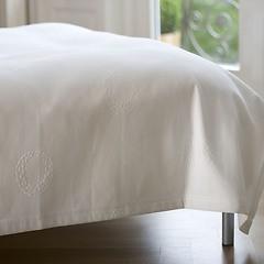 Torquato Bettüberwurf Kränze 180x260 cm