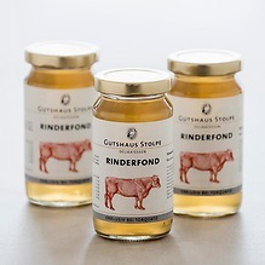 Gutshaus Stolpe Gourmet Fonds  3 x 200 ml Rind