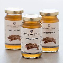Gutshaus Stolpe Gourmet Fonds  3 x 200 ml Wild