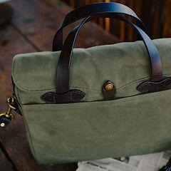 Filson Briefcase Otter Green