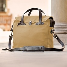 Filson Briefcase Tan