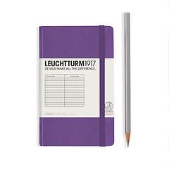 Leuchtturm1917 Notizbuch A6 liniert Lila