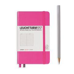 Leuchtturm1917 Notizbuch A6 liniert Pink