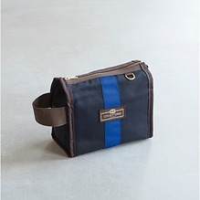 Otis Batterbee Wash bag Grand  Tour S Navy mit Blau
