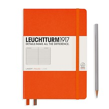 Leuchtturm1917 Notizbuch A5 liniert Orange