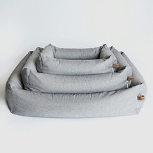 Cloud 7 Sleepy Hundebett Tweed Grey