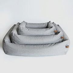 Sleepy Hundebett Tweed Grey 80 x 100 cm