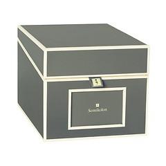 Semikolon CD Box Grau