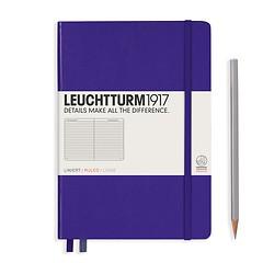 Leuchtturm1917 Notizbuch A5 liniert Violett
