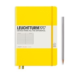 Leuchtturm1917 Notizbuch A5 liniert Zitrone
