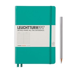 Leuchtturm1917 Notizbuch A5 liniert Smaragd