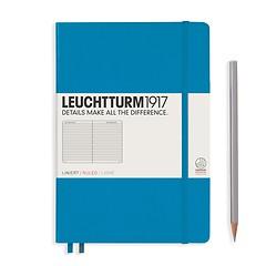 Leuchtturm1917 Notizbuch A5 liniert Azur