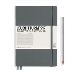 Leuchtturm1917 Notizbuch A5 liniert Anthrazit