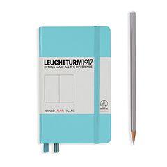 Leuchtturm1917 Notizbuch A6 blanko Hellblau