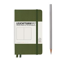 Leuchtturm1917 Pocket Blanko Army