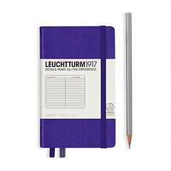 Leuchtturm1917 Notizbuch A6 liniert Violett