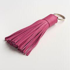 Schlüsselanhänger mit Tassel Pink/Rot