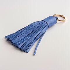 Schlüsselanhänger mit Tassel Blau