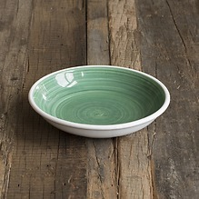 Ruggeri Brushed Verde Suppenteller 22 cm