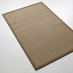Sisalteppich Bouclé 150 x 240 cm Khaki