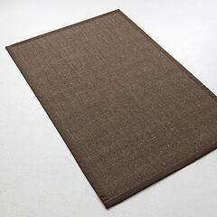 Sisalteppich Bouclé 275 x 365 cm Braun