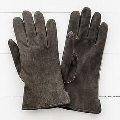 Herren Handschuh aus Ziegenleder Walnuß