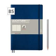 Notizbuch B5 Composition  Liniert Marine