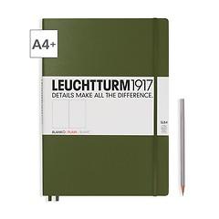 Leuchtturm1917 Notizbuch A4+ Master Slim Blanko Army