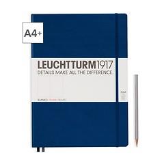 Leuchtturm1917 Notizbuch A4+ Master Slim Blanko Marine
