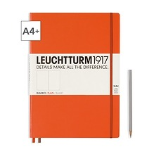 Leuchtturm1917 Notizbuch A4+ Master Slim Blanko Orange