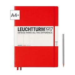 Notizbuch A4+ Master Slim Blanko Rot