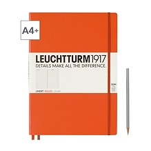 Leuchtturm1917 Notizbuch A4+ Master Slim Liniert Orange