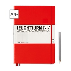 Notizbuch A4+ Master Slim Liniert Rot