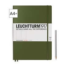 Notizbuch A4+ Master Slim Dotted Army