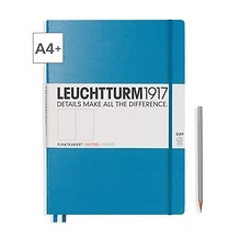 Leuchtturm1917 Notizbuch A4+ Master Slim Dotted Azur