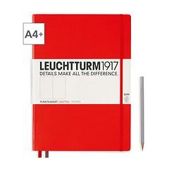 Leuchtturm1917 Notizbuch A4+ Master Slim Dotted Rot