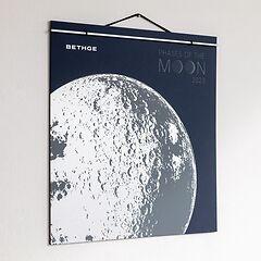 BETHGE Mondphasen-Wandkalender 2019