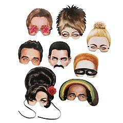 Karnevalsmasken Musical Icones
