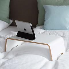 Notebar Notebook Tisch & Tablett Weiß