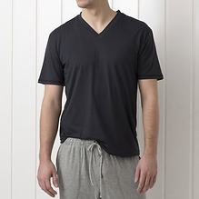 Sunday in Bed Pyjamashirt Oscar Nearly Black M
