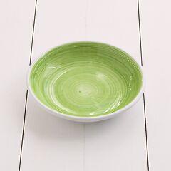 Ruggeri Suppenteller Brushed Verde Mela Ø 22 cm