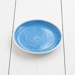 Ruggeri Kleiner Teller Brushed Azzurro Ø 21 cm