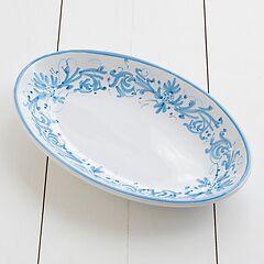 Ruggeri Ovale Platte Adelasia Azzurro Ø 36 cm