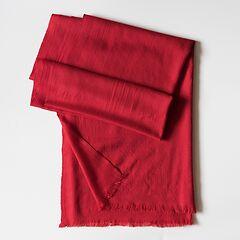 Kashmir Loom Wollschal Royal Red