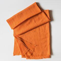 Kashmir Loom Wollschal Orange