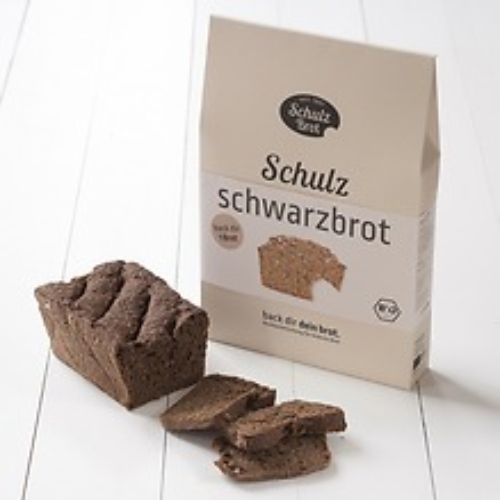 Schulzbrot: Backmischungen für selbstgebackenes Brot Schwarzbrot